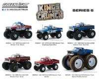 Lote Kings of Crunch Monster Truck Series 6 Greenlight 1/64