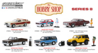 Lote The Hobby Shop Series 8 Greenlight 1/64