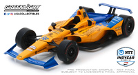 Mclaren Indycar - Indianapolis 500 - nº66 Fernando Alonso (2019) Greenlight 1/18