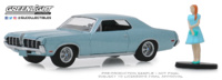 Mercury Cougar XR-7 GT-E 428 Cobra Jet (1968) Greenlight 1/64
