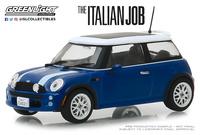 "Mini Cooper S (2003) "" The Italian Job"" Azul (2003) Greenlight 1/43"