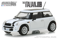 "Mini Cooper S (2003) "" The Italian Job"" Blanco (2003) Greenlight 1/43"