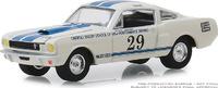 """Mustang Shelby GT350 #29 """"Escuela de carreras Carroll Shelby"""" Greenlight 1/64"""