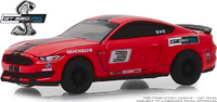 "Mustang Shelby GT350 #3 (Rojo) ""Escuela de carreras Ford Performance"" Greenlight 1/64"