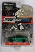 "Mustang Shelby GT350 nº 3 ""Escuela de carreras Ford Performance"" Greenlight 1/64"