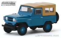 Nissan Patrol - Mt. Fuji Blue (1968) Greenlight 1/64