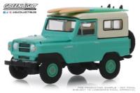 Nissan Patrol con tablas de Surf (1960) Greenlight 1/64