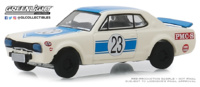 Nissan Skyline 2000 GT-R #23 (1971) Greenlight 1/64