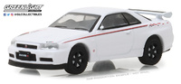 Nissan Skyline GT-R (R34) 2001 Greenlight 1/64