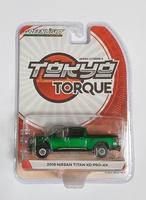 """Nissan Titan XD Pro-4X """"Warrior"""" (2018) Tokyo Torque Greenmachine 1/64"""