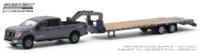 Nissan Titan XD Pro-4X con Plataforma de cuello de cisne (2019) Greenlight 1/64
