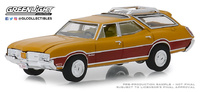 "Oldsmobile Vista Cruiser ""Pepita de oro"" (1970) Serie 3 State Wagons Greenlight 1/64"