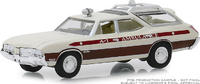 "Oldsmobile Vista Cruiser Texas ""Ambulance"" (1970) Greenlight 1/64"