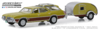 Oldsmobile Vista Cruiser con Remolque (1971) Greenlight 1/64
