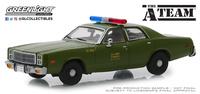 Plymouth Fury 1977 U.S. Policía (1967) Greenlight 1:43