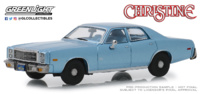 "Plymouth Fury ""Christine - Detective Junkin's (1977) Greenlight 1/43"