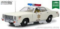 "Plymouth Fury ""Hazzard Country Sheriff"" (1977) Greenlight 1/18"