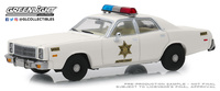 "Plymouth Fury ""Hazzard Country Sheriff"" (1977) Greenlight 1/43"