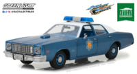 "Plymouth Fury Policía de Arkansas ""Smokey and the Bandit"" (1975) Greenlight 1/18"