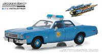 "Plymouth Fury Policía de Arkansas ""Smokey and the Bandit"" (1975) Greenlight 1/43"
