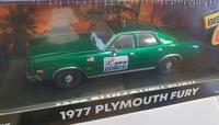 "Plymouth Fury Policía de Detroit ""Beverly Hills Cop"" (1984) Greenmachine 1/43"