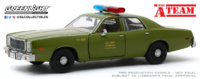 "Plymouth Fury U.S. Army Police ""The A-Team"" (1977) Greenlight 1/24"