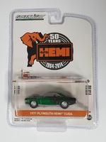 Plymouth HEMI 'Cuda - 426 HEMI 50 Years (1971) Greenmachine 1/64