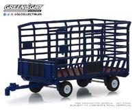 Remolque Tractor para balas de paja con laterales  Greenlight 1/64