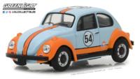 "Volkswagen Beetle Gulf Oil (1966) ""Running on Empty Series 1"" (1948) Greenlight 1/64"