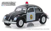 Volkswagen Beetle - Policía de Dakota Greenlight 1/64