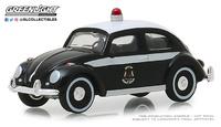 Volkswagen Beetle Policia de Saint John, Canadá, Greenlight 1:64
