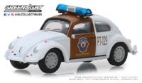 Volkswagen Beetle Policia de Tráfico de Chiapas Greenlight 1/64