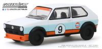 "Volkswagen Golf - #9 Gulf ""Vee Dub Series 10"" (1974) Greenlight 1/64"