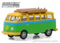 Volkswagen Samba con tabla de Surf (1964) Greenlight 1/64
