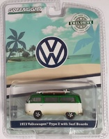 Volkswagen T2b con tablas de surf (1973) Greenmachine 1/64
