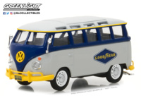 "Volkswagen Type 2 Samba Bus Goodyear Tires ""Running on Empty Series 1"" Greenlight 1/43"