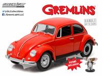 """Volkswagen escarabajo con figura de """"Gizmo"""" Greenlight 1/18"""